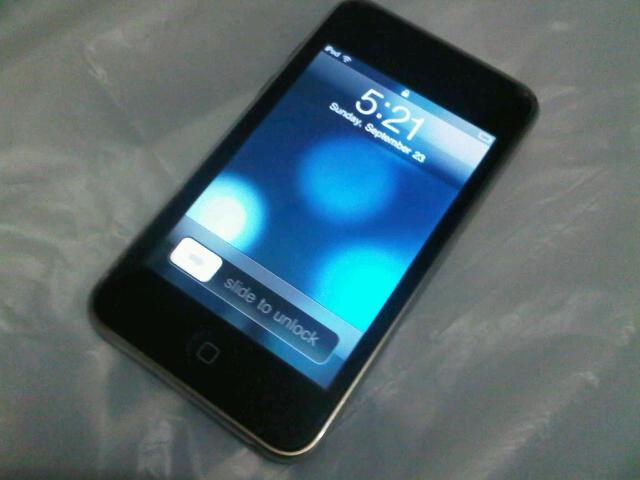 iTouch - Ipod Touch 8G 2nd Gen mulusssss 650ribu Jaksel