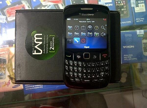 BlackBerry Curve 8520/Gemini, Black