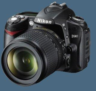 Kamera nikon D90 Kit 18-105vr