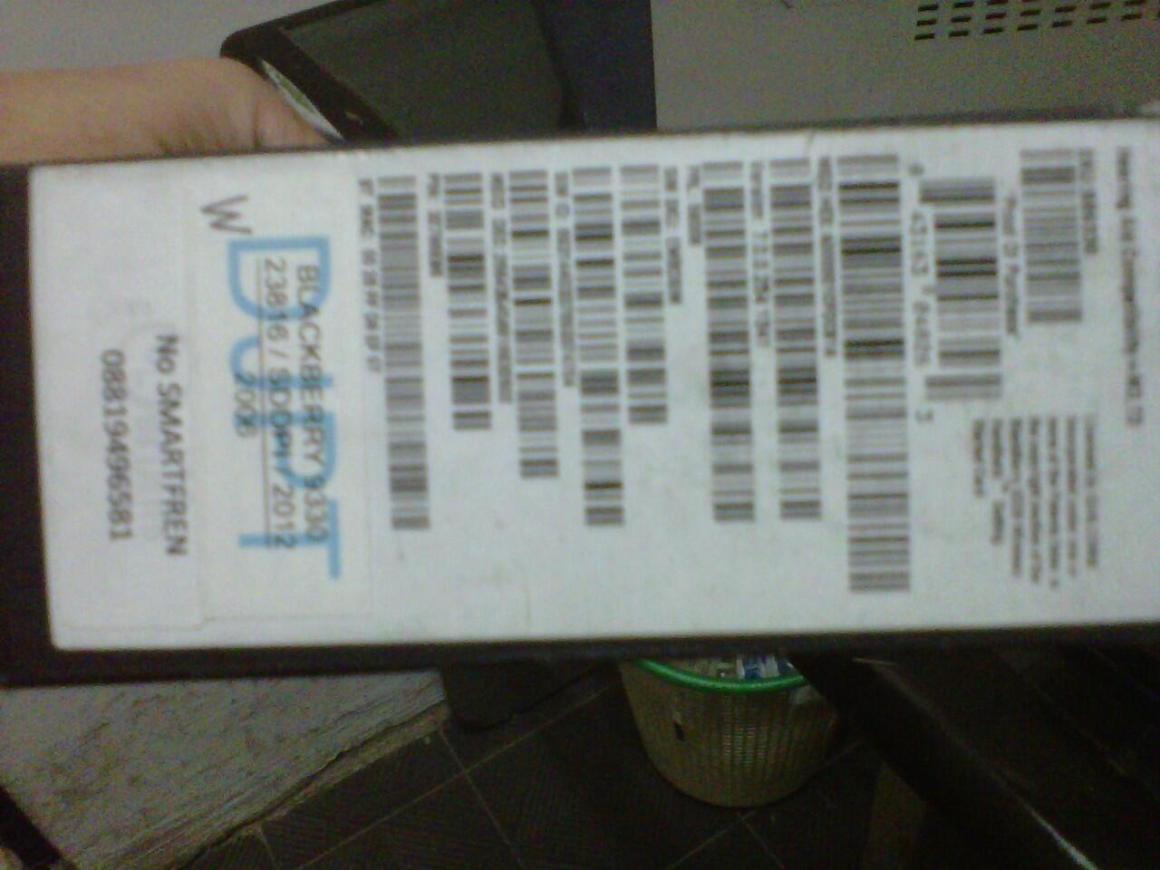JUAL blackberry kepler jupiter 9330 garansi bless 2thn surabaya