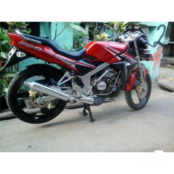 Terjual Kawasaki Ninja R 150 L super kips merah 2011   KASKUS