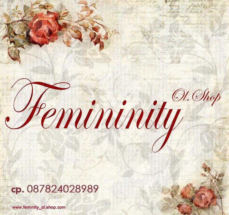 Femininity menyediakan pakaian wanita up to date dengan harga yang terjangkau dan ber