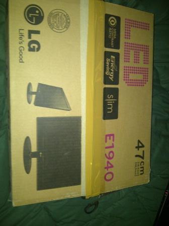 WTS Monitor LED LG E1940s