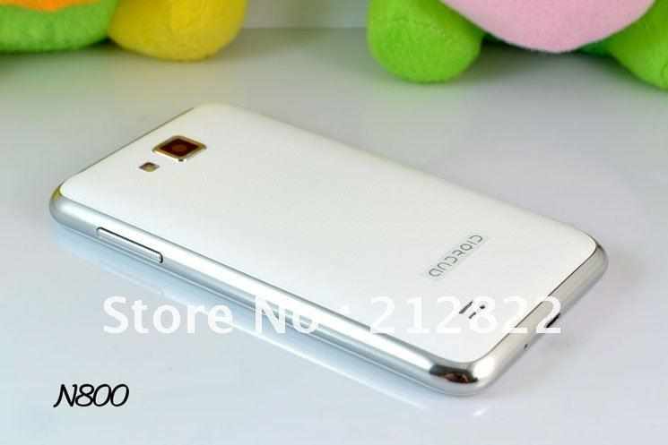 [SOLD] n800 Android Smart Phone MTK6577 1GHz ICS GPS 3G 4.3inch white mulus abis!