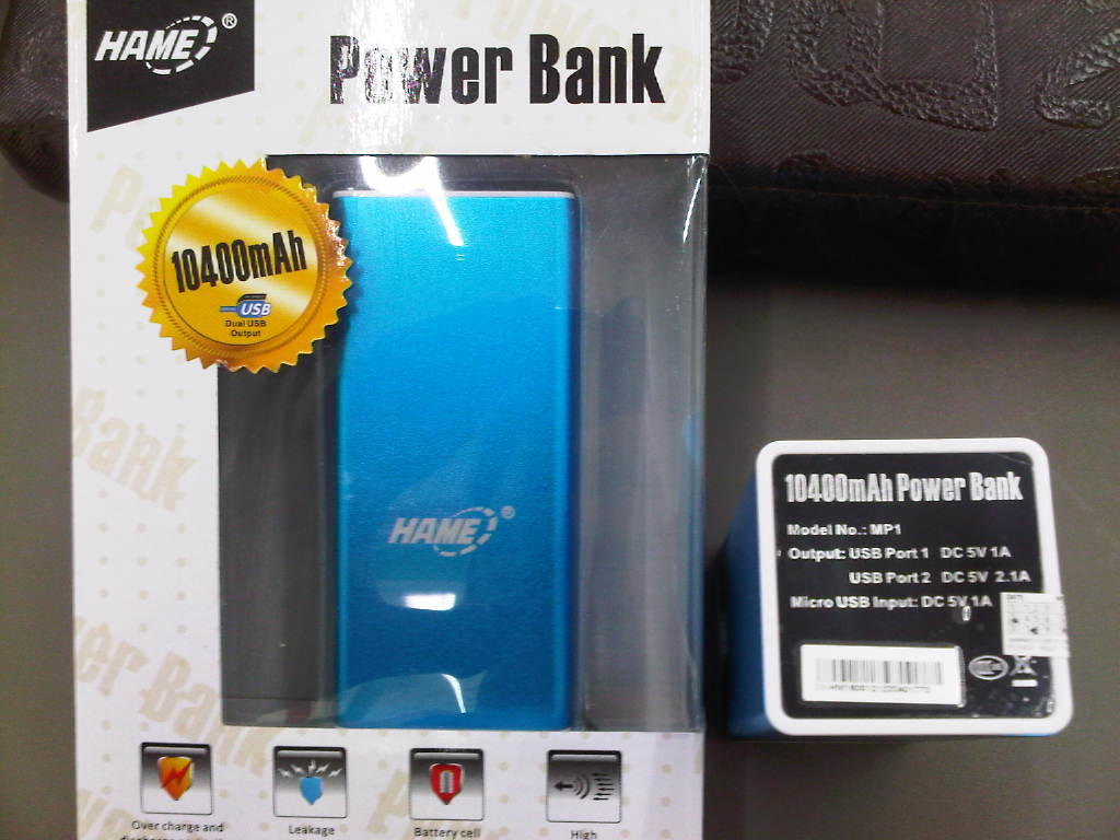 Powerbank 10400mAh Keren & Murahhh Bangettt Cuma Rp 2xxrban aj