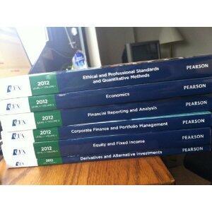 CFA curriculum level 1 2012
