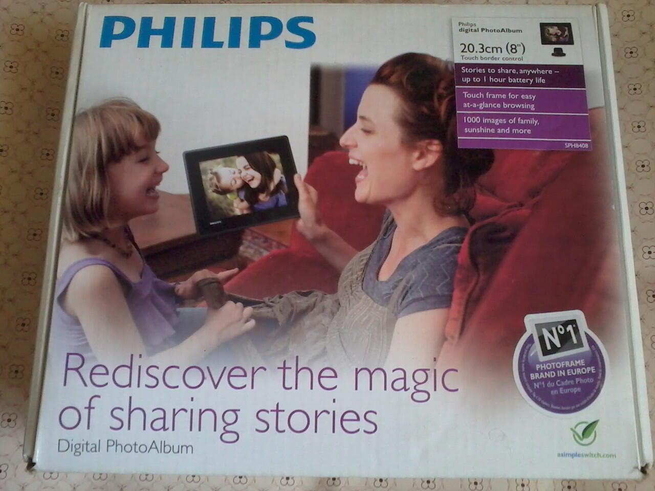Digital Photo Frame Philips SPH8408 / 10