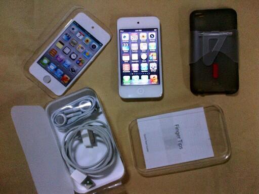 .:: Jual Cepat IPod Touch 64GB White mulus 99% ::.