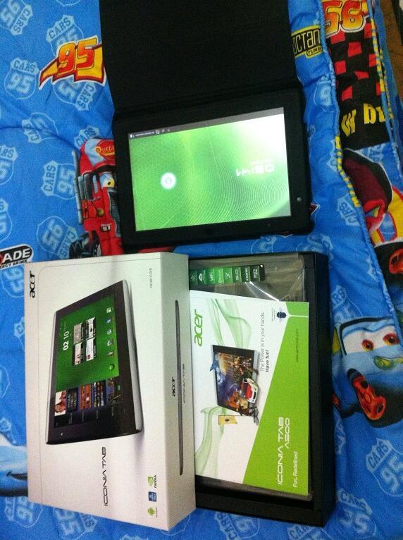Acer Iconia A500 32GB fullset murah aja