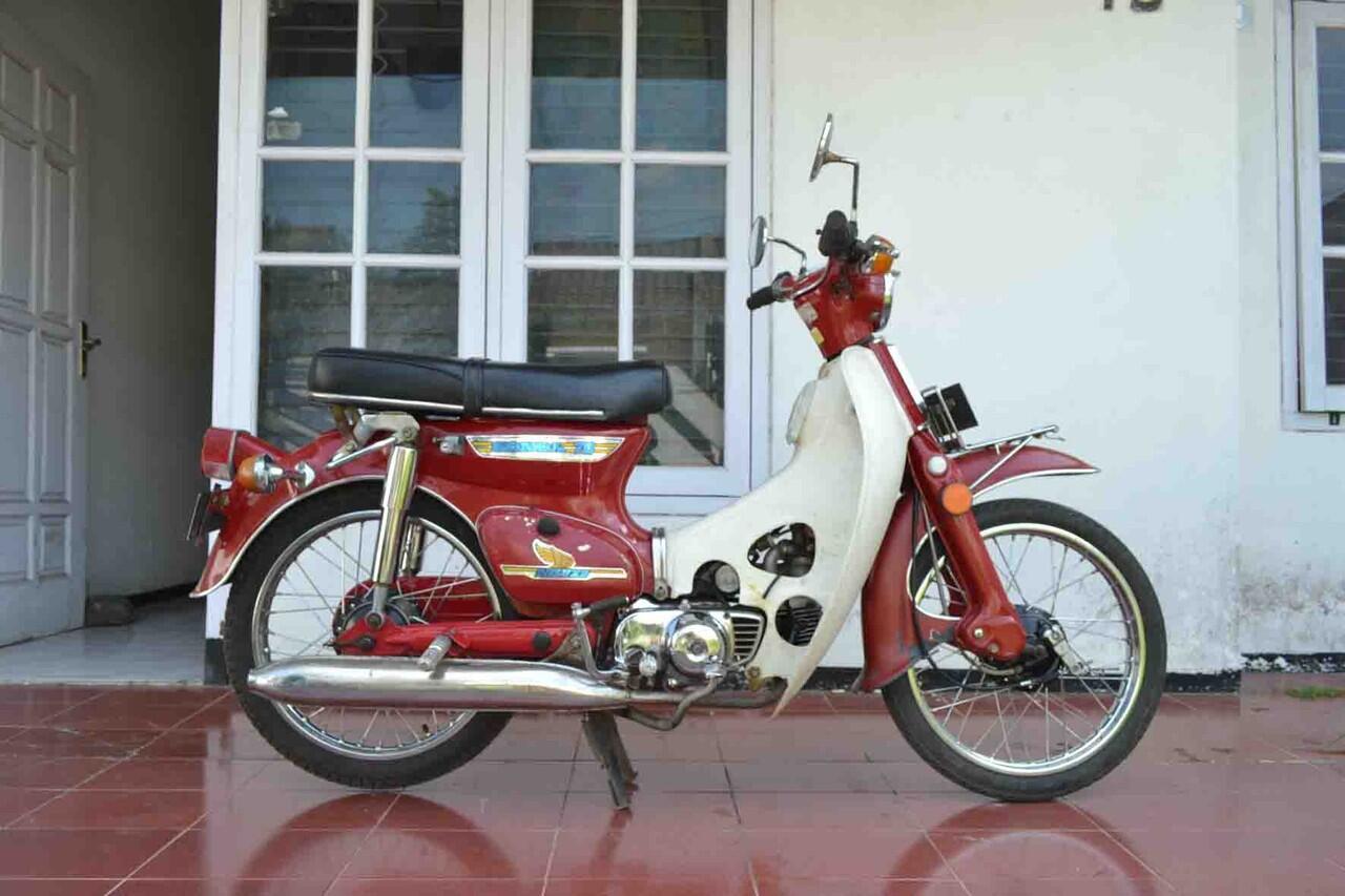 Terjual Jual Motor Antik Ori Honda C70 Banyak Bonus Malang KASKUS