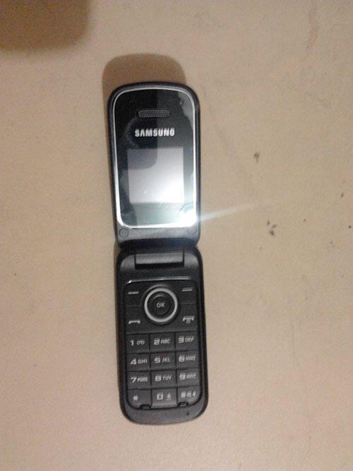 Samsung E1195 Black garansi panjang [BANDUNG]