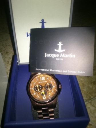 Wts Jam Tangan Jacque Martin 3141mf Swiss made
