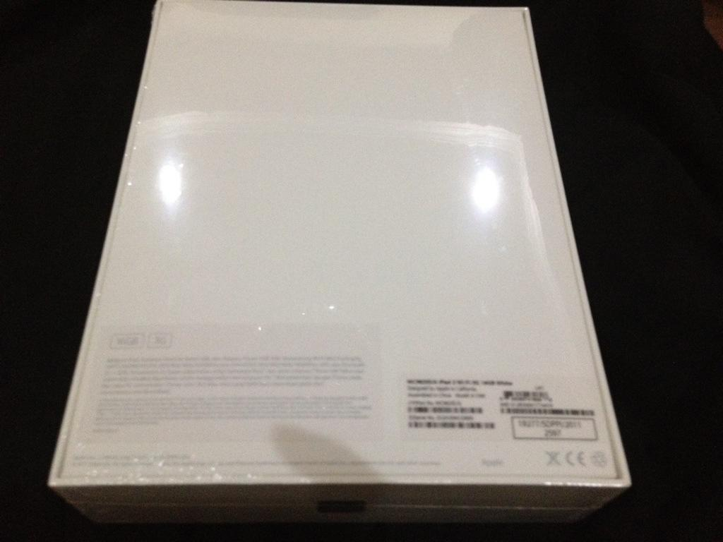 WTS iPad 2 3G 16Gb White baru masih di segel