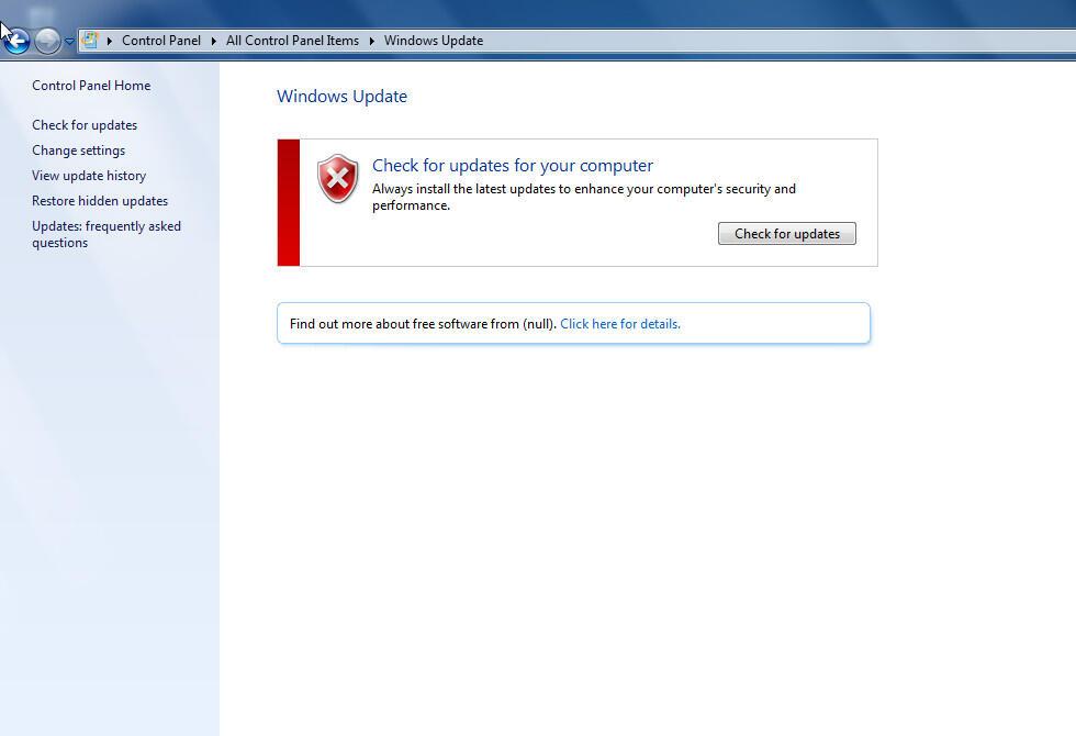 Nanya. Kenapa Windows gak Bisa Update ???