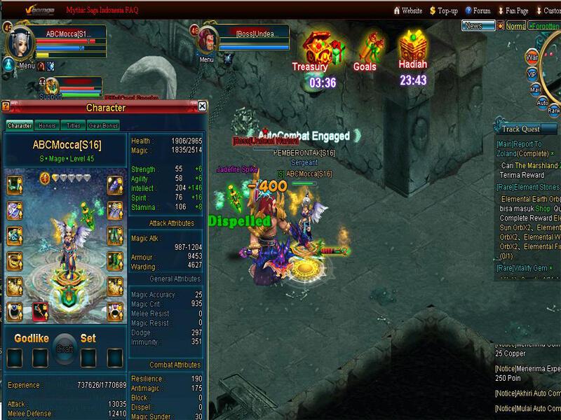 mythic saga bahasa new 25d mmorpg game in indonesia