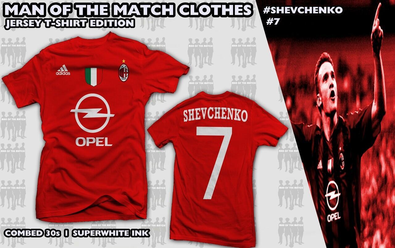 Jersey T-Shirt Klub Kesayanganmu (MU, Madrid, Inter, Juventus, Arsenal, Milan)