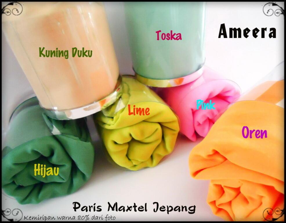 Jual Kerudung Paris Maxtel Jepang Ameera