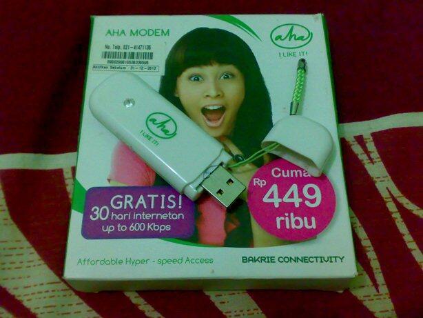 Modem AHA Esia | Merk Airflash | 100% Works ! | Bandung