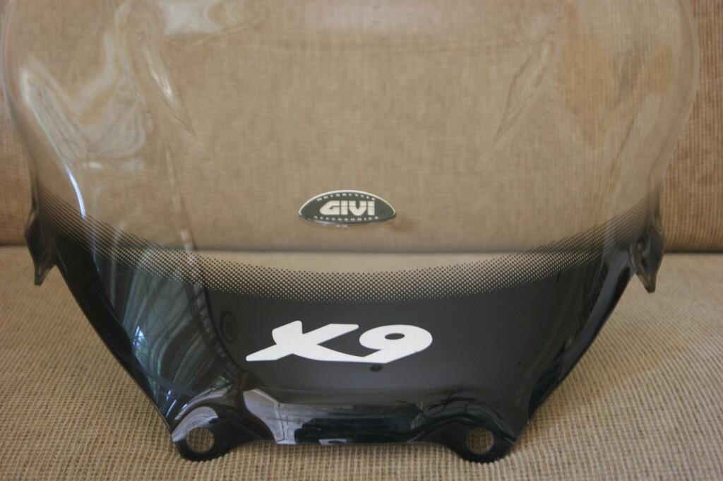 Wind shield Givi Piaggio X9