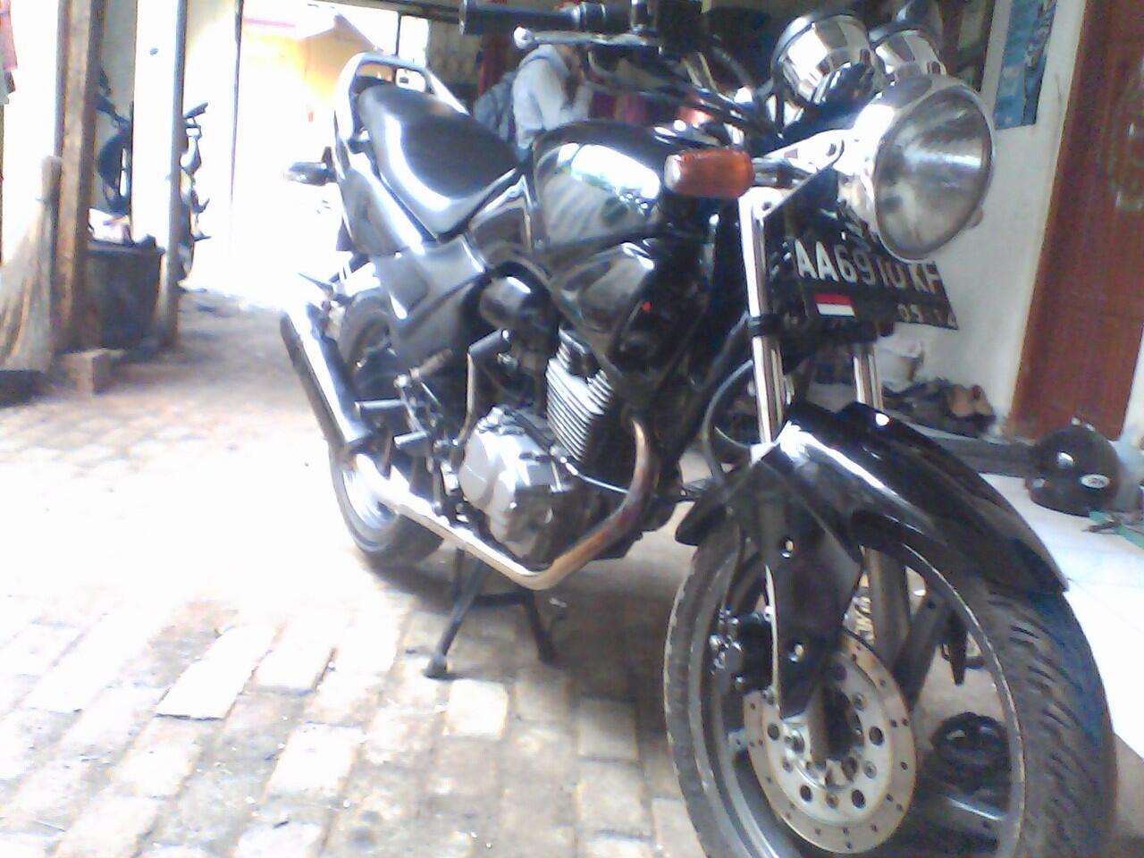 honda tiger 2004 modif kaki-kaki plat AA - F wonosobo