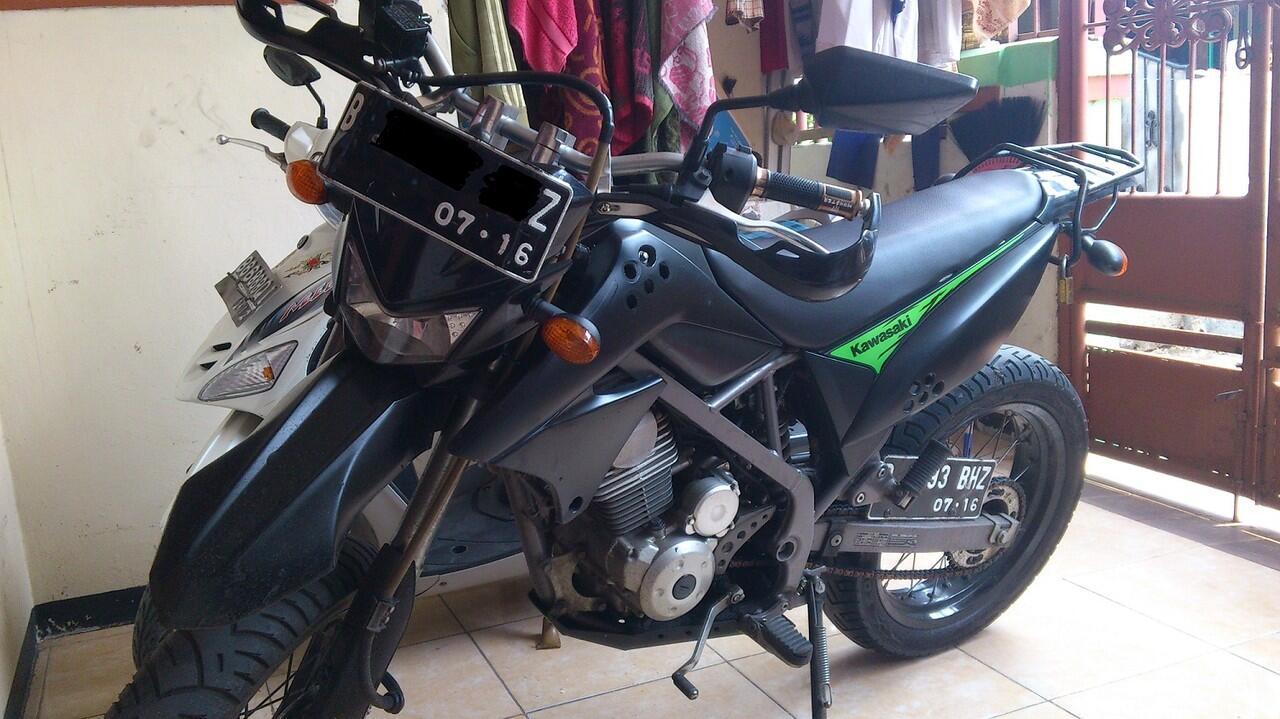 WTS Kawasaki D Tracker 150 (KLX Upside Down) Th. 2010