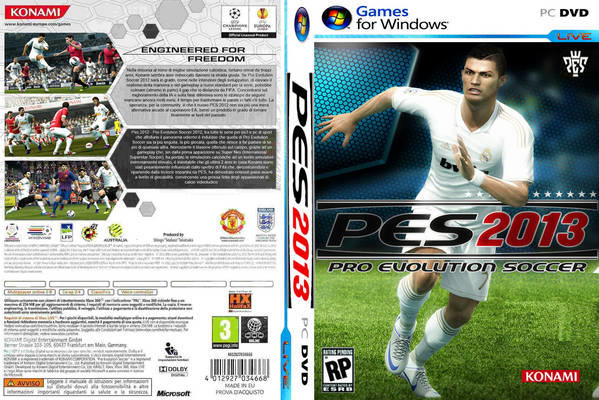 Jual DVD PES 2013 full version