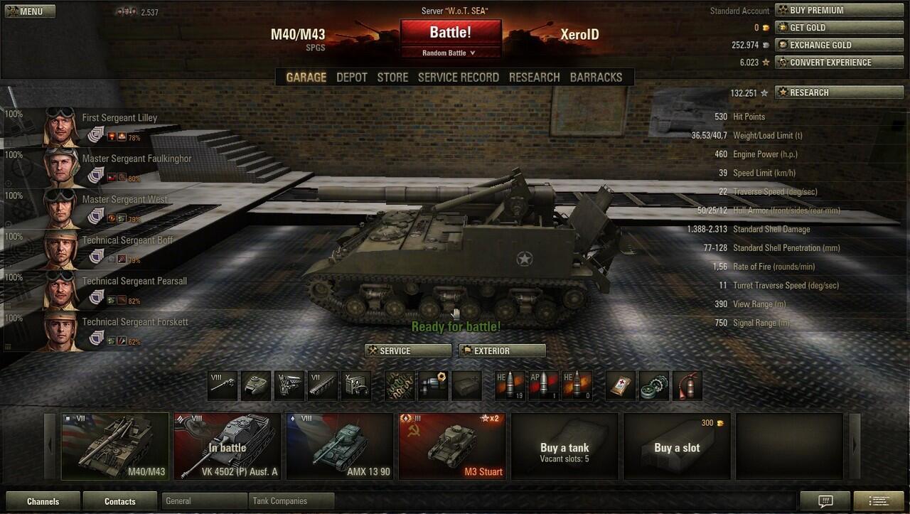 Akun World of Tanks SEA [Murahan]