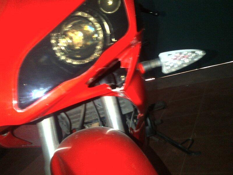 JUAL MINERVA R150VX Merah