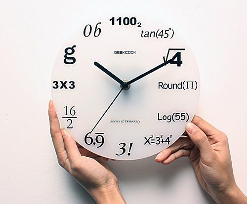 [KEREN] Berbagai Desain Unik Jam Dinding