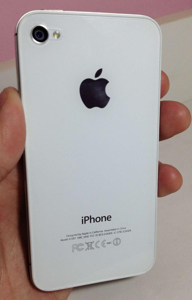 JUAL CEPAT iPhone 4S White Second - 16GB (Garansi Telkomsel sampai JUNI 2013)