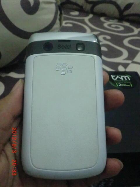 cepat Blackberry 9780 bb onyx 2 white garansi tam masih 10 bulan lagi