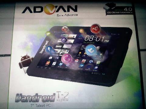 wts ADVA T2i TABLET PC ANDROID 4.0 99% NEW (850k)