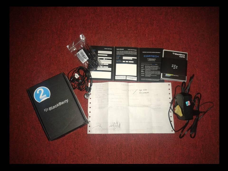 Blackberry Gemini 3G 9300 (Keppler) baru d pake 3 bln