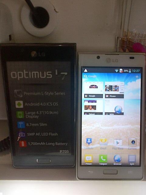LG optimus L7 Baru Bergaransi