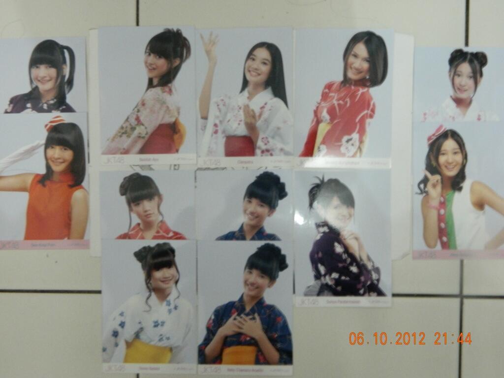 WTS photo pack jkt48 (yukata)