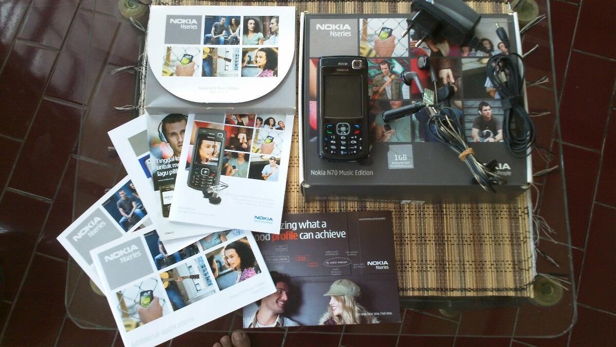 Nokia N70 Music Edition mantap jaya lengkap [Bogor]