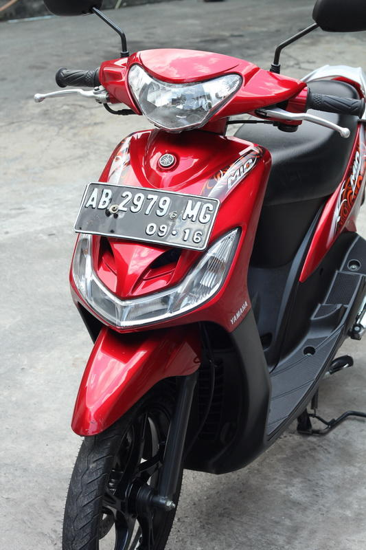 Jual Yamaha Mio 2011 Merah Marun