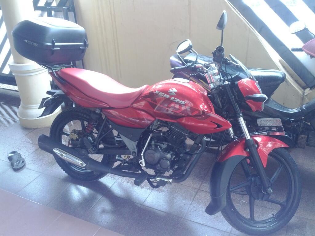 <WTS> Bajaj XCD 125 tahun 2008 Red