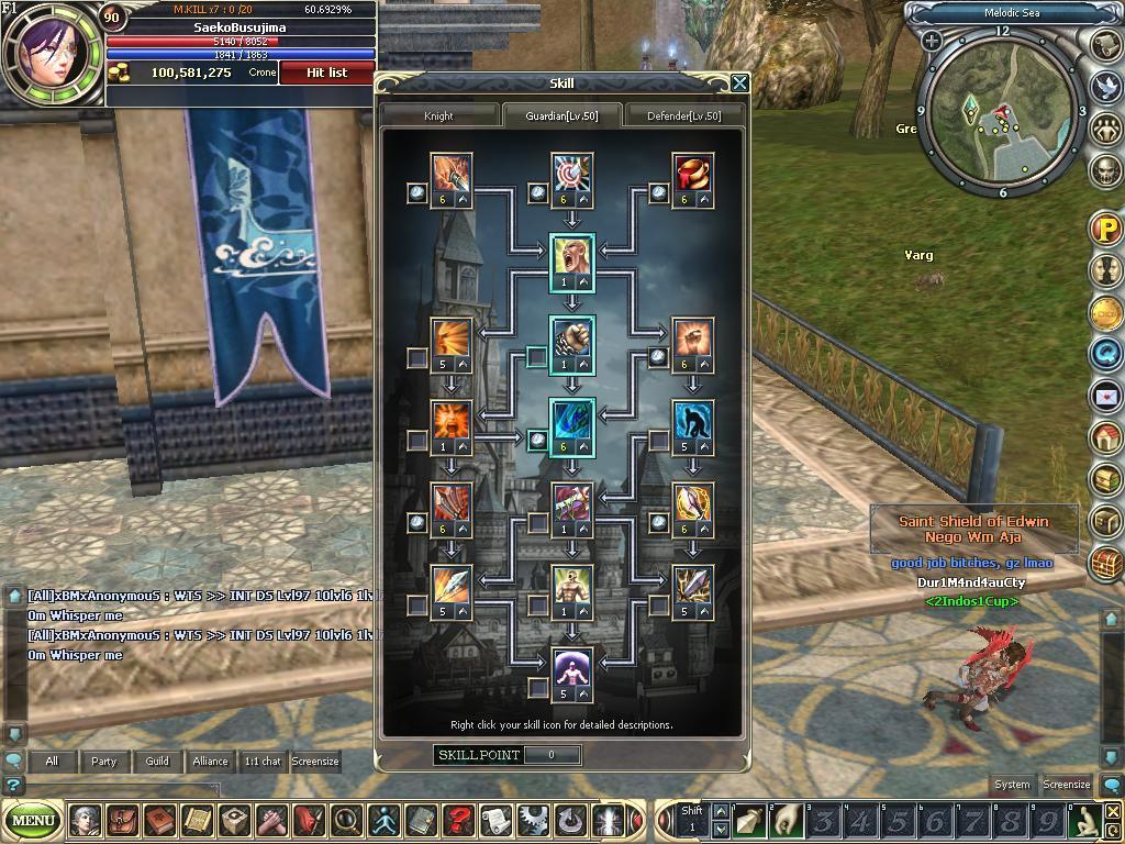 Jual Char Xor Rohan (Server 1)