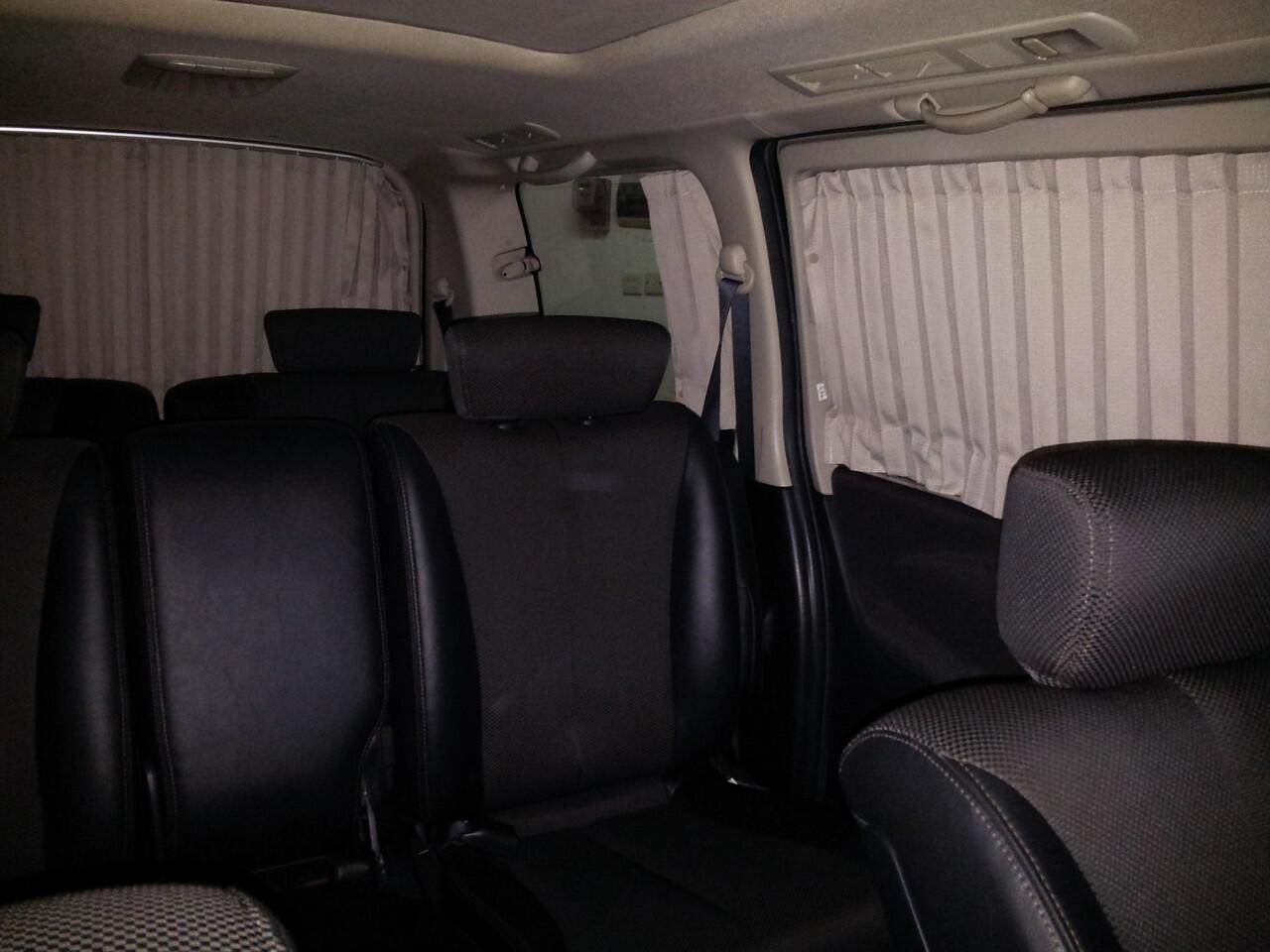 Nissan Elgrand   2007   Hitam   Nego