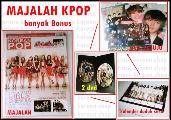 Koleksi KPOP album (Super Junior, f(x), T-ara, EXO)