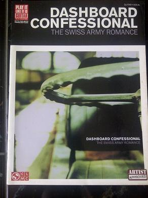 Dashboard Confessional ARTIST APPROVED Chord Book