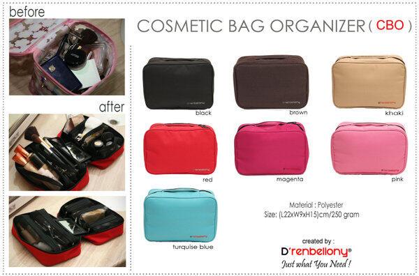 Cosmetic Bag Organizer D'renbellony