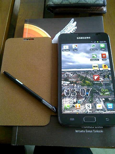 Samsung Galaxy Note GT-N7000 GARANSI SAMSUNG 2013