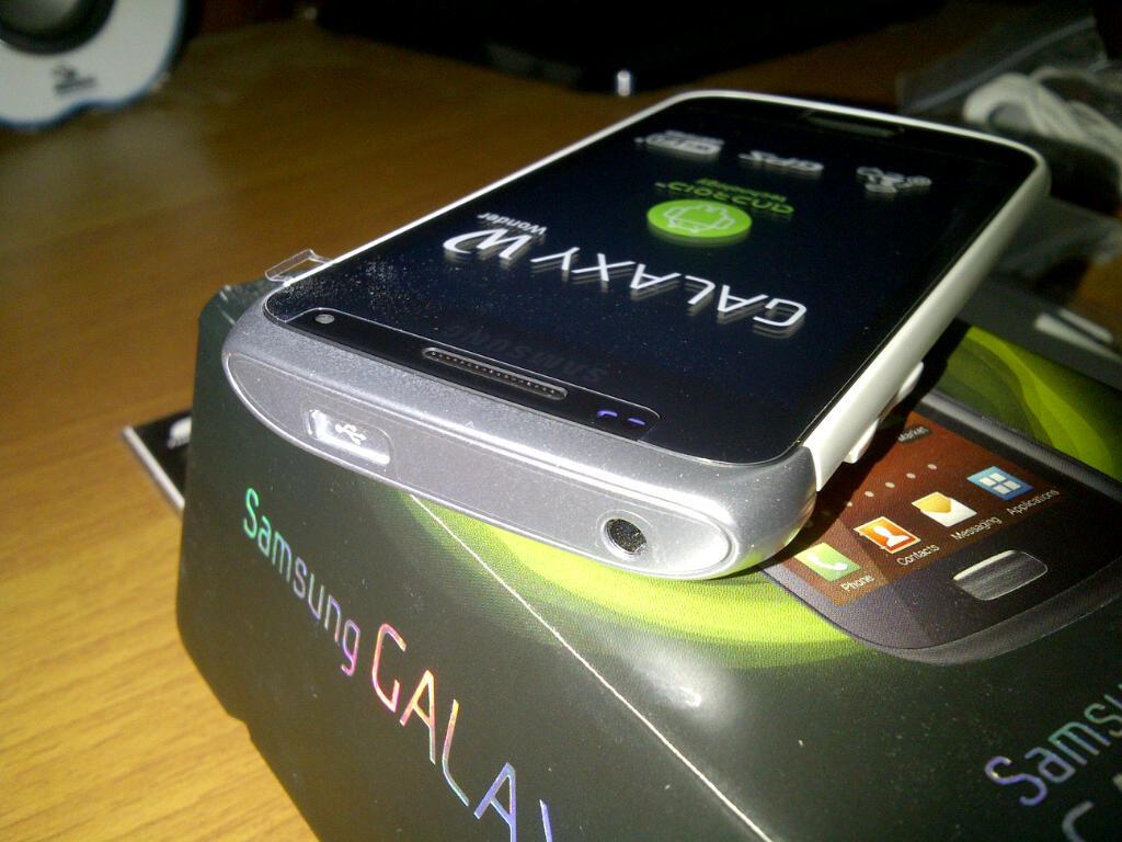 Samsung Galaxy Wonder I8150 White like new murah