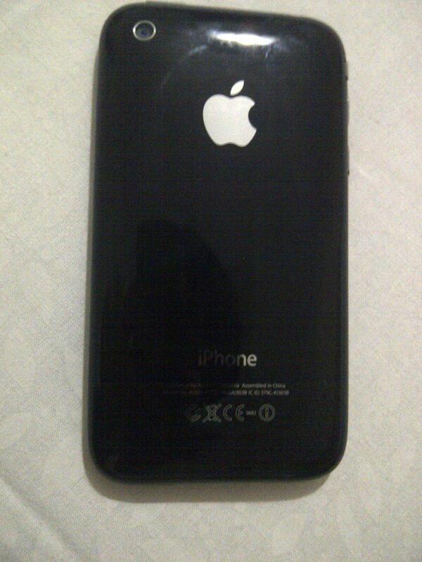 Iphone 3gs Fu 8gb black mulus 99% garansi panjang