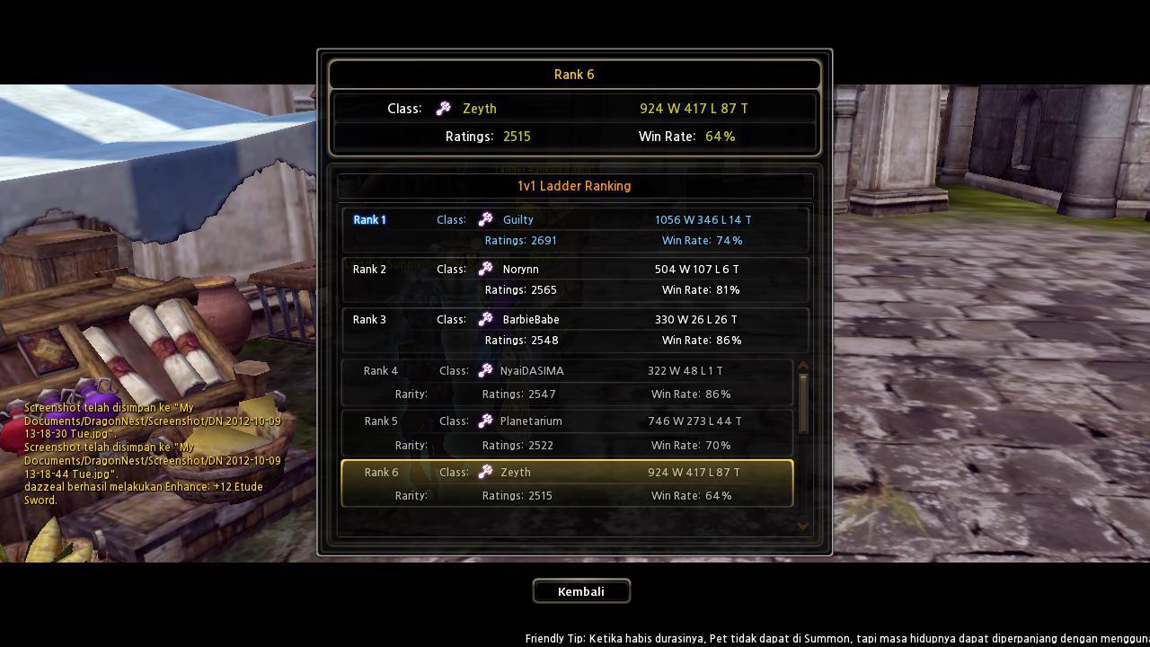 J> id EL Elemental Lord (Althea) BANDUNG Rank 6Ladder FE !!