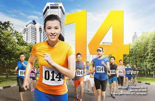 -= FR [BEKASI RUNNERS] on Mandiri Run For Our Nation 2012 =-