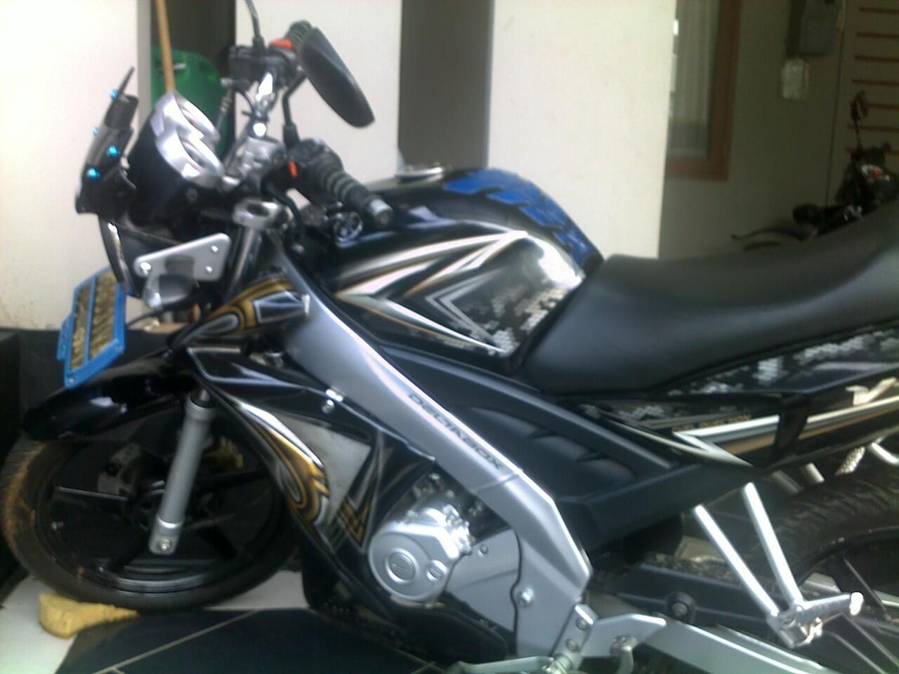 Yamaha Vixion 2009 - Black (Jarang Pakai)