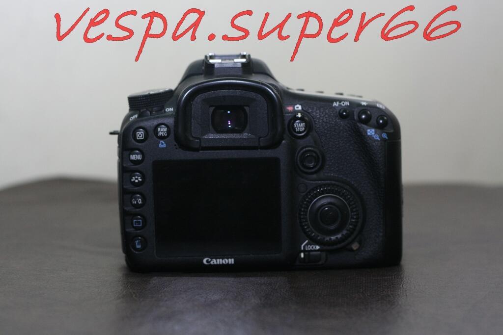WTS Canon 7D BO (Body Only) Lengkap, Murah, Jogja